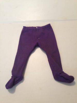 "Amazing Ally 18"" Interactive Electronic Doll Purple Tights Clothing"