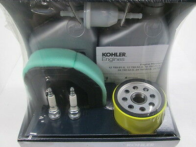 Toro Kohler Twin Cylinder Courage Engine Filter Kit Part# 32-789-01-S