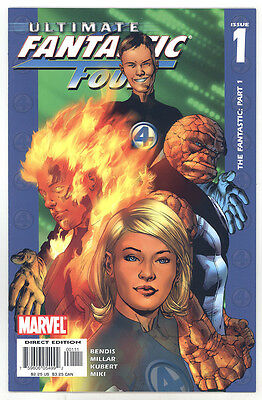 Ultimate Fantastic Four Group Lot (#1 - #11) NM to NM/MT Kubert Hitch