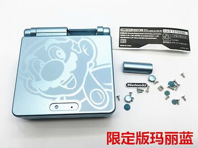 C Limited Replacement Full Housing Shell Case Cover f GBA SP Gameboy Advanced SP