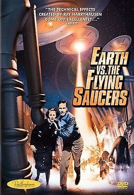 Earth Vs. The Flying Saucers New Region B Blu-Ray