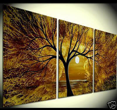 Huge Abstract Oil Painting Modern Wall Art On Canvas(No Framed)