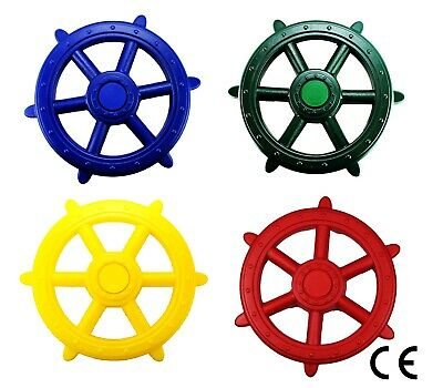 XL Kids Childrens Toy Pirate Ship - Boat Steering wheel for Climbing Frames 48cm