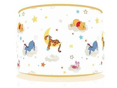 "Winnie The Pooh Rise And Shine Ceiling Lamp Shade 11"" Nursery  Free  P & P"