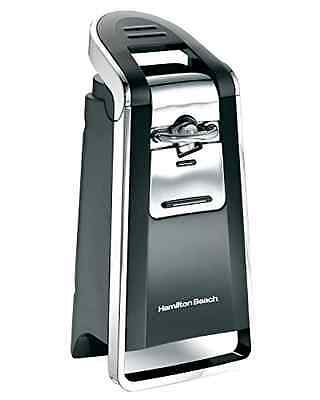 Hamilton Beach Smooth Touch Deluxe Can Opener Electric Kitchen Black & Chrome