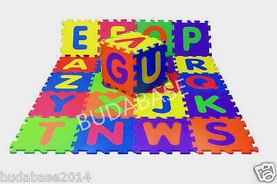 36pcs Extra Large Numbers Alphabet Play Mat Floor Mat BABY SOFT FOAM Puzzle