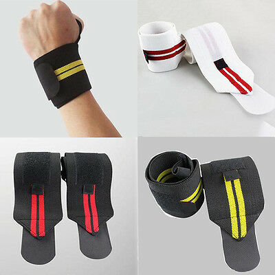 1 PCS Elastic Wrist  Support Gym Weight Lifting Strap Bandage Wrap Guard Protect