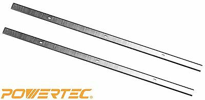 POWERTEC 128033 12-1/2-Inch Planer Knives for Delta TP305, HSS, Set of 2