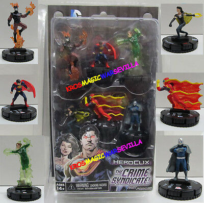 DC HEROCLIX JUSTICE LEAGUE TRINITY WAR - Fast Forces The Crime Syndicate