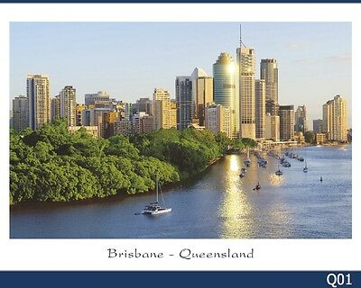 28 Brisbane Postcards & SE Queensland
