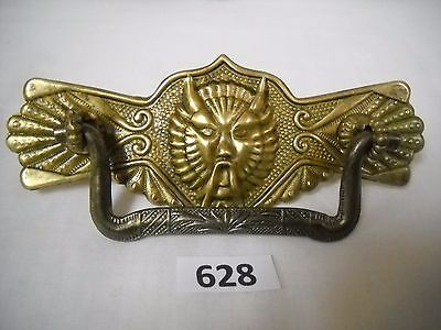 Antique Eastlake Figural Drawer Pull Demon /devil Head