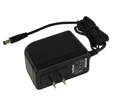 Genuine Brother Ac Adapter AD-18/ ADE001 Fits PT-18R, PT-18RKT, PT-7500,PT-7600