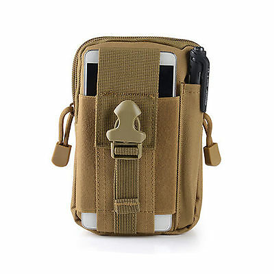 New 1pc Outdoor Tactical Waist Fanny Pack Belt Bag Camping Hiking Pouch Wallet