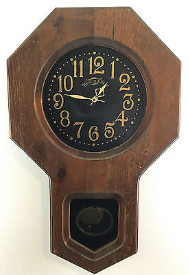 Vintage Westminister Clock w/ Pendulum Wall Clock