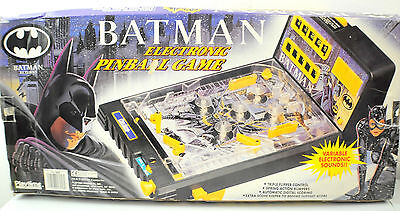 Batman Electronic Pinball Game W/ Box
