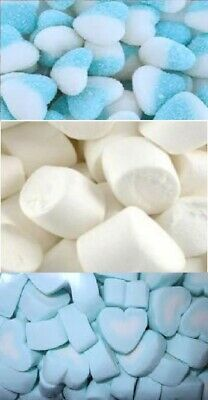 Blue DIY Candy Lolly Bar Marshmallow Sour Heart Gummy Wedding Party Favour 3kg