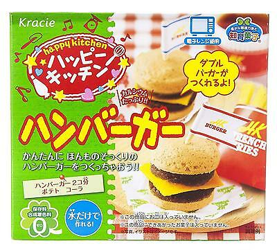 Happy Kitchen Hamburger Kracie Japan Kids Educational Toy Delicious Candy