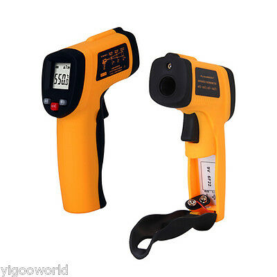 Non-Contact LCD IR Laser Infrared Digital Temperature Thermometer -58 to 1022F