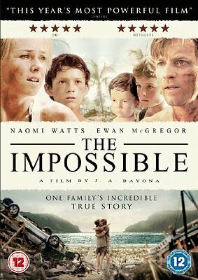 The Impossible [DVD] [2013] By Ewan McGregor,Naomi Watts