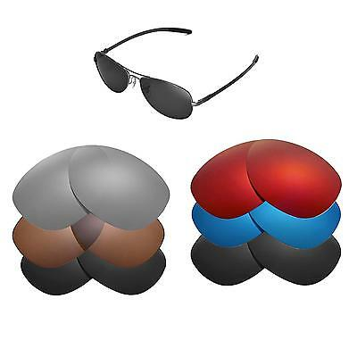 Walleva Replacement Lenses for Ray-Ban RB8301 59mm Sunglasses - Multiple Options