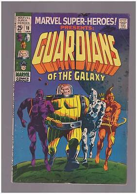 Marvel Super-Heroes # 18 First Guardians of the Galaxy ! grade 5.5 scarce book !