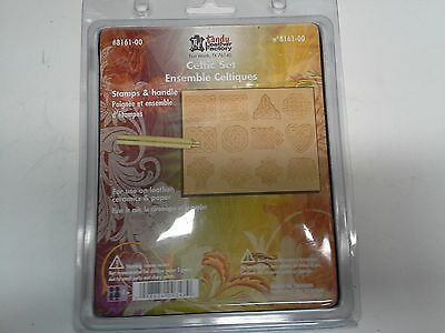 NEW Tandy Leather 8161-00 Celtic Stamp 3D Set of 12 - Free USPS Priority to US!