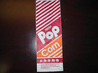 "Popcorn Bags  (1000)  10"" 1.5oz Great Size (NEW)"