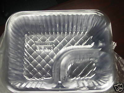 "Nacho Trays Two Compartment (500) Large 6"" x 8"""