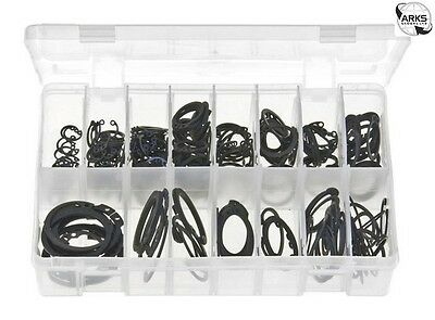 Assorted Box of Circlips Internal & External - Metric - AB37