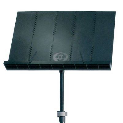 K&M 12125 Orchestra Music Stand - Black