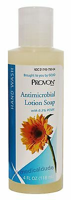 Provon 4oz Antimicrobial Lotion Soap Piercing Care 0.3% PCMX Gojo 4301-48