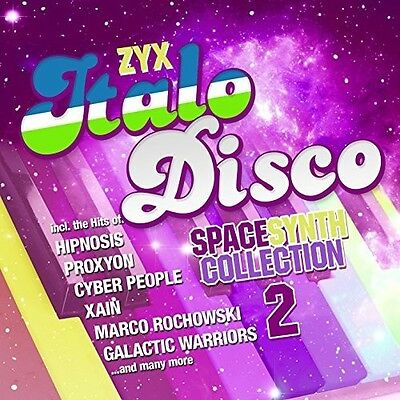 Various Artists - Zyx Italo Disco Spacesynth Collection 2 [New CD] Jewel Case Pa