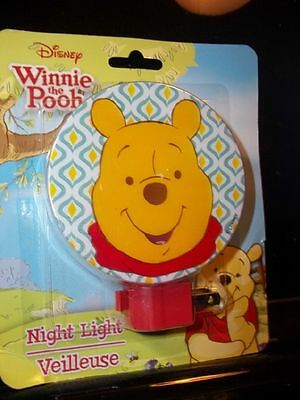 Disney Winnie the Pooh Nightlight  Free Shipping