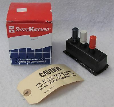 OMC Selector Switch & Tag 0279091