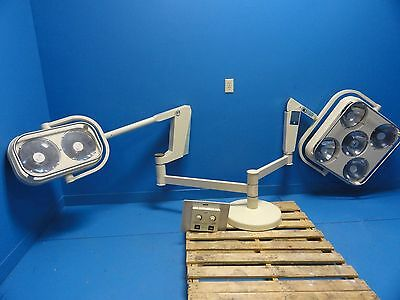 Castle Sybron Surgical 2510/2610 Ceiling Mount Or Light W/ Control Box(10344)