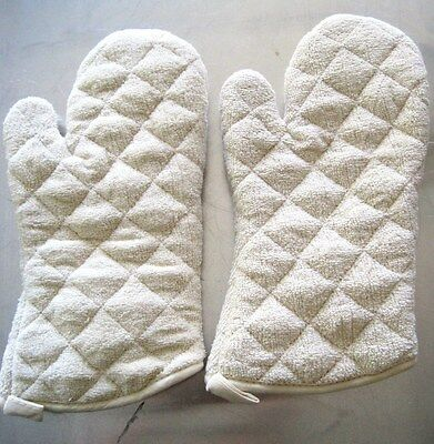 """12 pack  Oven Mitts/ Gloves 15"""", Terry Cloth, Commercial Restaurant, 450F TEC15"""