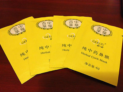 50 X Herbal conk CLEAN Remover NOSE Pore Mask BLACKHEADS *ships from Canada*