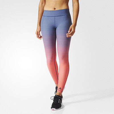 Adidas Miracle Sculpting Womens Long Sports Fitted Tights Bottoms Pants