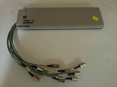 Agilent 34906A Dual 4 Channel RF Mux w/ Cables