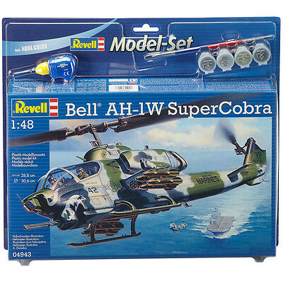 Revell Bell AH-1W SuperCobra Model Set with Paints & Brush (Scale 1:48) NEW