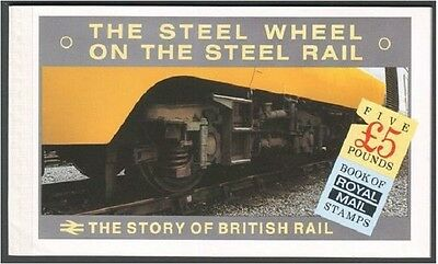 GB Prestige Booklet DX7 1986 The Steel Wheel - Story of British Rail - Perfect