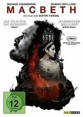 Macbeth - (Michael Fassbender) # DVD-NEU
