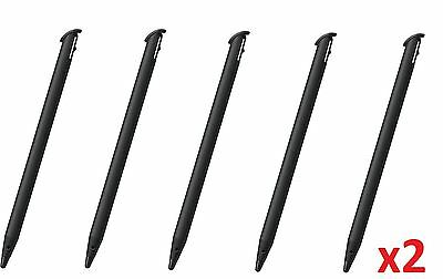 Hellfire Trading 10x Black Touch Stylus Pen for - ̗̀new ̖́- Nintendo 3DS XL