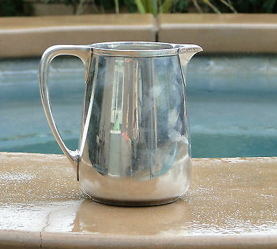 Tiffany & Company Sterling Silver Large 744.0 Grams 3 1/4 Pints Pitcher