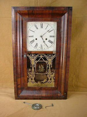 VERY RARE! Antique 1800s ANDERSONVILLE SC OGEE CLOCK Southern Clock Company RARE