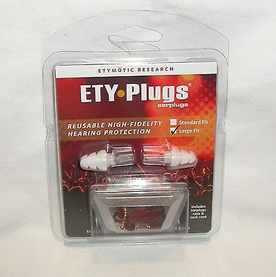 Large Hearing Protection Ear Plugs earplugs musicians ETY Plugs