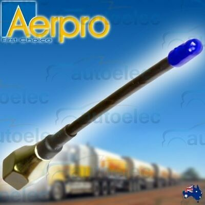 Aerpro Cba15 Cb Uhf Radio Antenna Aerial Whip Short Flexible For Uniden Gme 3Db