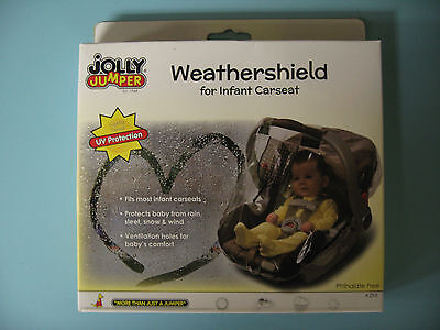 Jolly Jumper-Weathershield for infant Carseat