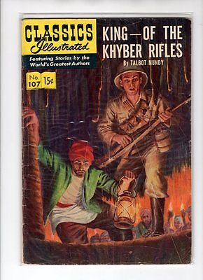 Classics Illustrated #107 HRN 108 (Original) GD+ Seymour Moskowitz
