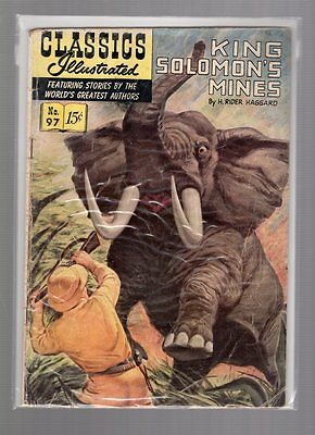 Classics Illustrated #97 HRN 96 (Original) GDVG Henry Kiefer